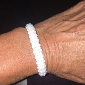 Lagos white caviar bracelet